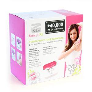 Фотоэпилятор Silk'n SensEpil XL + картридж с 40,000 за 6200 грн