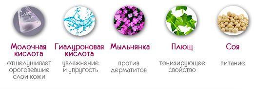 Полезные компоненты Педикюрные носочки SOSU (СОСУ)