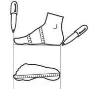 Универсальный размер Педикюрные носочки SOSU (СОСУ)