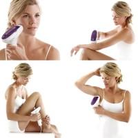 Удаления волос ELOS эпилятором в домашних условиях